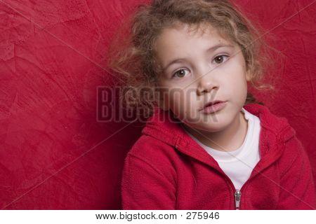 Beautiful Thoughtful Child