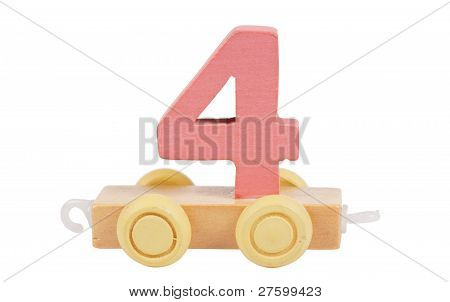 Wooden Toy Number 4