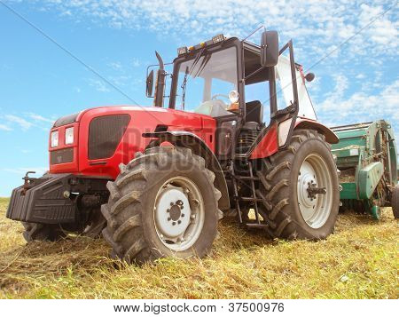 Big Red Tractor
