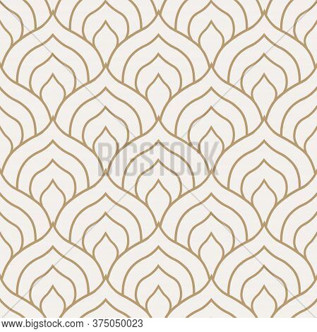 Repeat Fashion Vector Continuous Deco Texture. Continuous White Graphic Roaring Background Pattern.