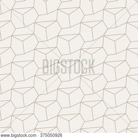 Repetitive Linear Graphic Diagonal Decoration Texture. Seamless Fashion Vector, Continuous Deco Patt