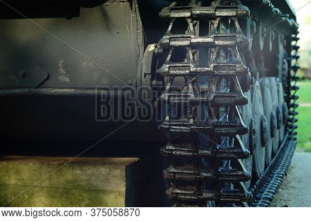 Snegiri Village, Istra District, Moscow Region, June 26, 2020. The German Battle Tank Of The 11th Pa