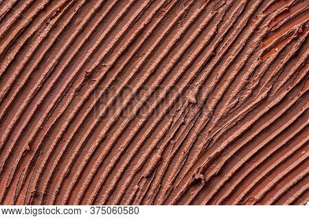 Textured Smears Of Dark Skin Foundation, Background