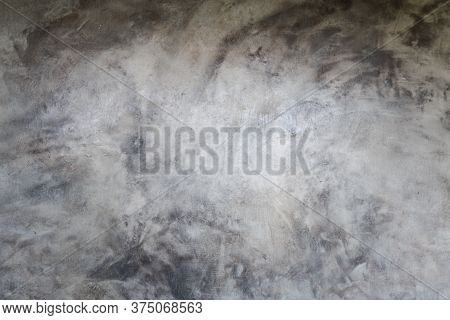 Cracked Cement Floor, Cracked Stone Wall,crack Concrete Floor Texture. Cement Concrete Is Damaged Fl