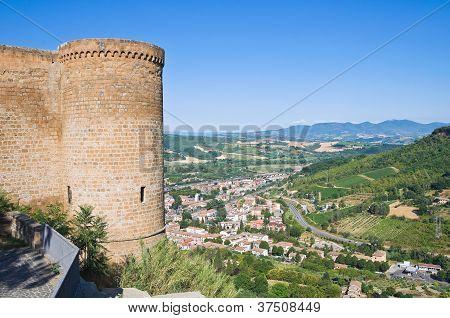 Albornoz rocca. Orvieto. Umbria. Italy.