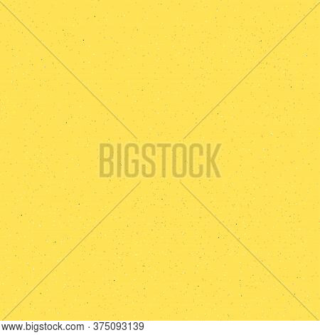 Seamless Sand Background. Yellow Pattern With Grains, Dots And Debris.