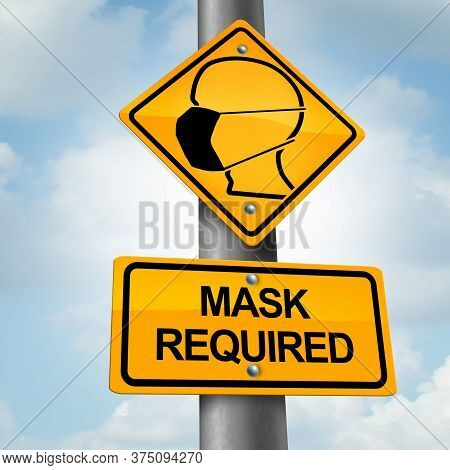 Mask Mandate And Mandating Wearing A Face Covering Law And Public Health Regulations As A Medicine A