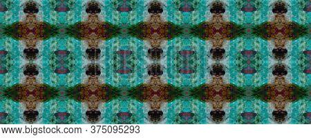 Original Tile Template.  Folk Embroidery. Ogee Geo Border. Light Seamless Patterns Lisbon Decor. Win
