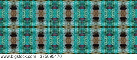 Original Tile Template.  Santorini Pattern Original. Rustic Floral Image. Pastel Seamless Luxurious