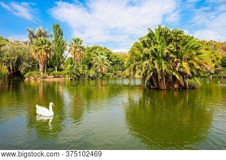 The Parc De La Ciutadella Or Citadel Park Is A Park In The Centre Of Barcelona City In Catalonia Reg