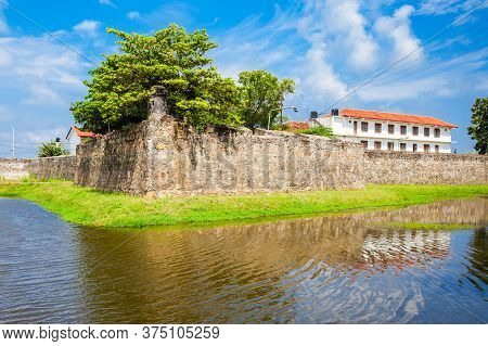 The Batticaloa Fort Is The Old Portuguese Fort In The Center Of Batticaloa City, Sri Lanka