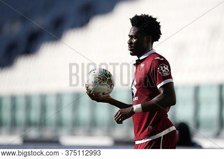 Torino, Italy. 04th July 2020. Italian Football League Serie A. Temitayo Aina  Of Torino Fc    Durin