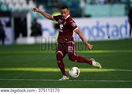 Torino, Italy. 04th July 2020. Italian Football League Serie A. Alejandro Berenguer Of Torino Fc