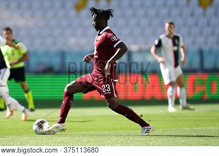 Torino, Italy. 04th July 2020. Italian Football League Serie A. Soualiho Meite Of Torino Fc    Durin