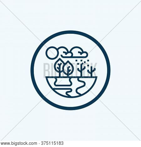 Greenhouse Effect Vector Icon From Climate Change Collection Isolated On White Background