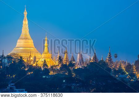 Shwedagon Pagoda One Of The Most Famous Pagodas In The World And It Is Certainly The Main Attraction