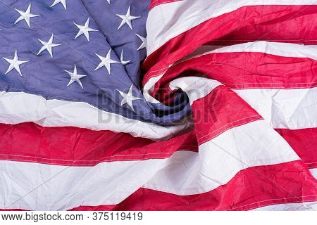 Us American Flag. For Usa Memorial Day, Presidents Day, Veterans Day, Labor Day, Independence Or 4Th