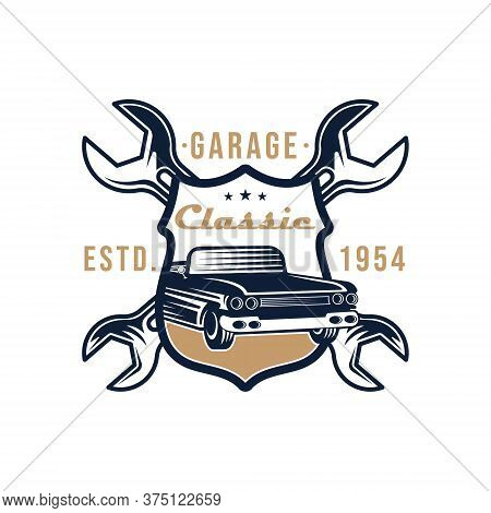 Car. Classic Car logo vector. Car icon vector. Car icon. Classic Car Vector. Car Logo. Car logo template. Car logo design. Car Symbol vector. Classic Car Logo icon. Classic Car emblem logo. Classic Car vector logo design template illustration.