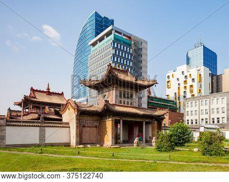 The Choijin Lama Temple Museum Is A Buddhist Monastery In Ulaanbaatar, The Capital Of Mongolia