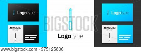 Grey Line Knife Sharpener Icon Isolated On White Background. Vector Illustration