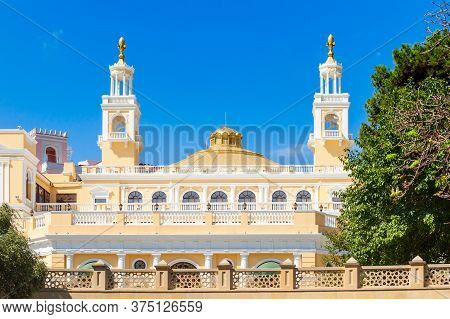The Muslim Magomayev Azerbaijan State Philharmonic Hall Is Located In Baku. It Is The Main Concert H