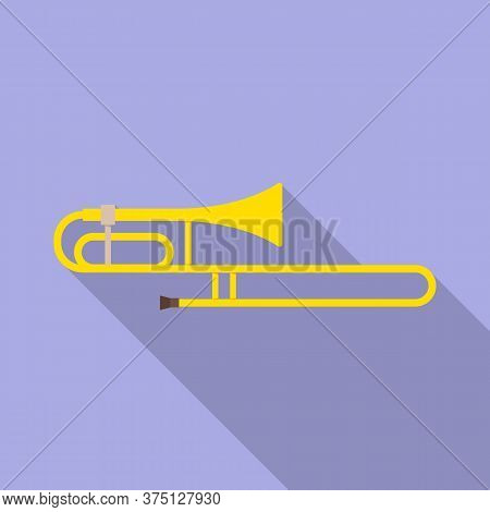 Isolated Object Of Cornet And Pipe Symbol. Graphic Of Cornet And Tuba Stock Symbol For Web.
