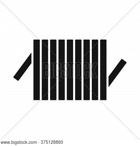 Vector Illustration Of Detail And Coil Symbol. Web Element Of Detail And Energy Stock Symbol For Web
