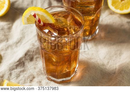 Sweet Refreshing Cold Iced Tea
