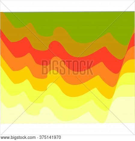 Abstract Yellow Background Wave Background, Modern Texture Background, Color Gradation Elegant Backg