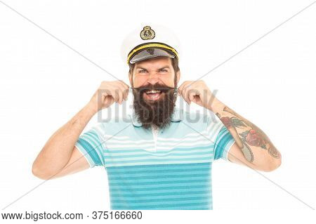 Unshaven And Beardy. Unshaven Look Of Brutal Sailor. Bearded Man With Unshaven Face Hair. Barbershop