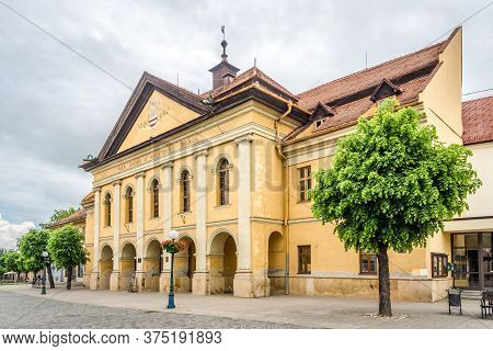 Kezmarok,slovakia - June 11,2020 - View At The Building Of Redoubt (reduta) In The Streets Of Kezmar