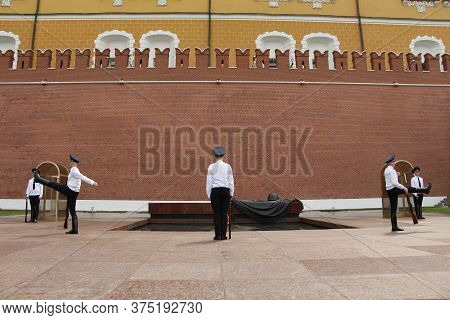 The Hourly Change Of The Russian Presidential Guard.