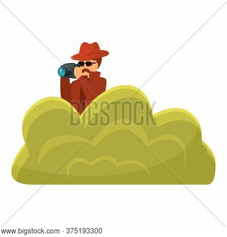 Investigator Make Photo Icon. Cartoon Of Investigator Make Photo Vector Icon For Web Design Isolated