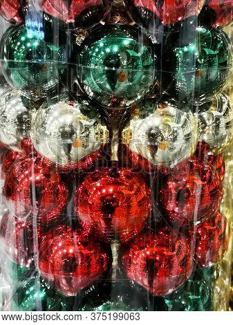Christmas Balls Texture