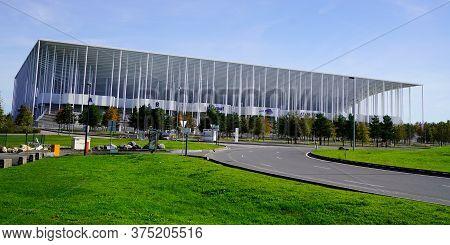 Bordeaux , Aquitaine / France - 10 25 2019 : Stade Matmut Atlantique Street View In Bordeaux City