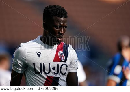 Milano, Italy. 05th July 2020. Italian Football Serie A. Musa Barrow Of Bologna Fc  During The Serie