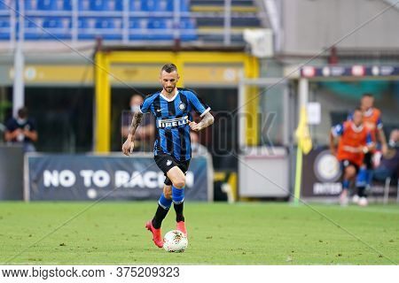 Milano, Italy. 05th July 2020. Italian Football Serie A. Marcelo Brozovic Of Fc Internazionale  Duri