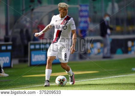 Milano, Italy. 05th July 2020. Italian Football Serie A. Nicolas Dominguez Of Bologna Fc  During Th