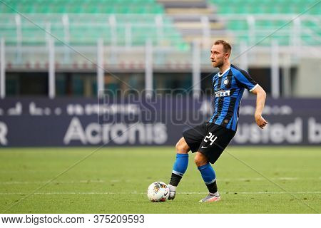 Milano, Italy. 05th July 2020. Italian Football Serie A. Christian Eriksen Of Fc Internazionale  Dur