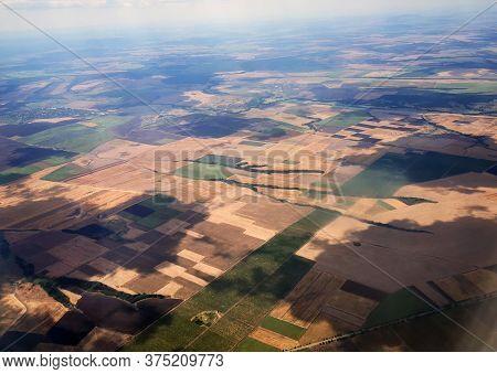 Czech Republic From The Aircraft