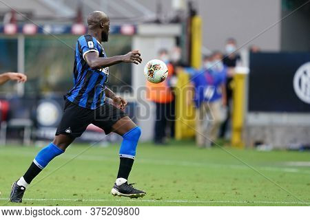 Milano, Italy. 05th July 2020. Italian Football Serie A. Romelu Lukaku Of Fc Internazionale  During