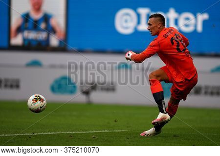 Milano, Italy. 05th July 2020. Italian Football Serie A. Lukasz Skorupski Of Bologna Fc  During The