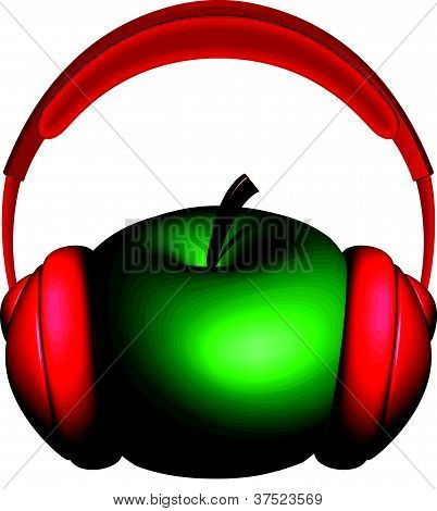 Apple And Headphones