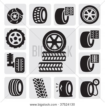 tire icons