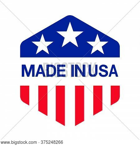 11-made In Usa Sign Vector