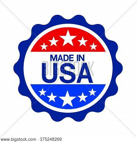 04-made In Usa Sign Vector