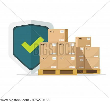Shipping Insurance For Freight Cargo Delivery And Parcel Package Transportation Protection Coverage
