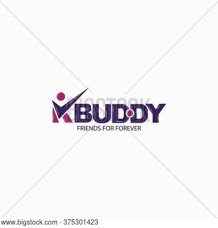 Buddy Logo, This Logo Will Be Used For Brand And Partnership Businesses