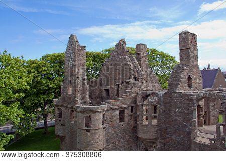 Ruin Of Earl's Palace In Kirkwall, Scotland