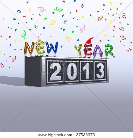 2013 New Year.